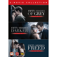 Fifty Shades 1-3 Box (DVD)