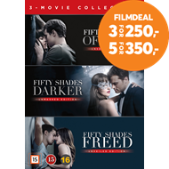 Produktbilde for Fifty Shades 1-3 Box (DK-import) (DVD)