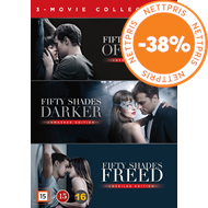 Produktbilde for Fifty Shades 1-3 Box (DVD)