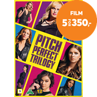 Produktbilde for Pitch Perfect Trilogy (DVD)