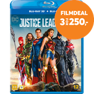 Produktbilde for Justice League (Blu-ray 3D + Blu-ray)