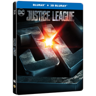 Justice League - Limited Steelbook Edition (BLU-RAY)