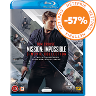 Produktbilde for Mission: Impossible 1-6 (BLU-RAY)
