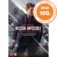 Produktbilde for Mission: Impossible 1-6 (DVD)