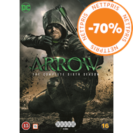 Produktbilde for Arrow - Sesong 6 (DVD)