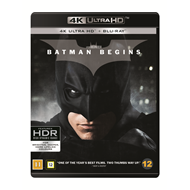 Produktbilde for Batman Begins (4K Ultra HD + Blu-ray)