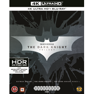 The Dark Knight Trilogy (4K Ultra HD + Blu-ray)