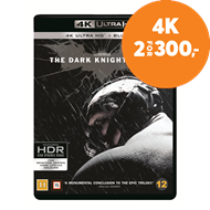 Produktbilde for Batman - The Dark Knight Rises (4K Ultra HD + Blu-ray)