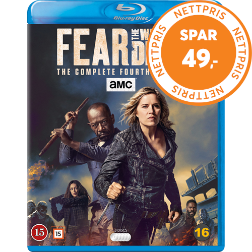 Fear The Walking Dead - Sesong 4 (BLU-RAY)