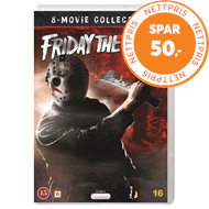 Produktbilde for Fredag Den 13. - 8 Movie Collection (DVD)