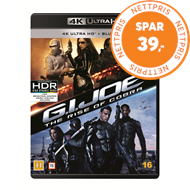 Produktbilde for G.I. Joe - The Rise Of The Cobra (4K Ultra HD + Blu-ray)