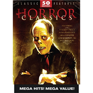 Produktbilde for Horror Classics: 50 Movie Pack (DVD)