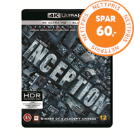 Produktbilde for Inception (4K Ultra HD + Blu-ray)