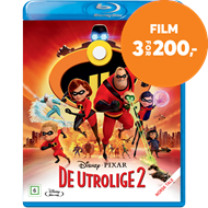Produktbilde for De Utrolige 2 (BLU-RAY)