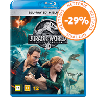 Produktbilde for Jurassic World 2 - Fallen Kingdom (Blu-ray 3D + Blu-ray)