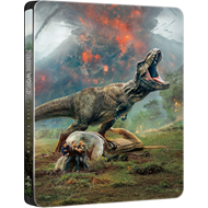 Jurassic World 2 - Fallen Kingdom: Limited Steelbook Edition (BLU-RAY)