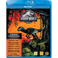 Produktbilde for Jurassic World 5-Movie Collection (BLU-RAY)