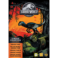 Jurassic World 5-Movie Collection  (DVD)