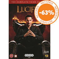 Produktbilde for Lucifer - Sesong 3 (DVD)