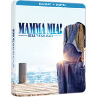 Mamma Mia 2 - Here We Go Again: Limited Steelbook Edition (BLU-RAY)