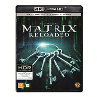 Produktbilde for Matrix Reloaded (4K Ultra HD + Blu-ray)