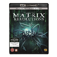 Produktbilde for Matrix Revolutions (4K Ultra HD + Blu-ray)