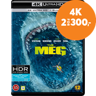 Produktbilde for The Meg - Megalodon (4K Ultra HD + Blu-ray)