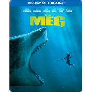 Produktbilde for The Meg - Megalodon - Limited Steelbook Edition (Blu-ray 3D + Blu-ray)