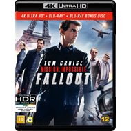 Mission: Impossible 6 - Fallout (4K Ultra HD + Blu-ray)
