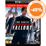 Produktbilde for Mission: Impossible 6 - Fallout (4K Ultra HD + Blu-ray)
