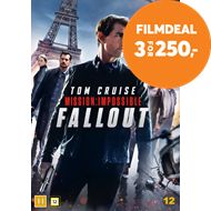 Produktbilde for Mission: Impossible 6 - Fallout (DVD)