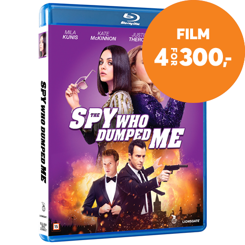 The Spy Who Dumped Me (DK-import) (BLU-RAY)