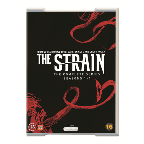The Strain - The Complete Series (DVD)