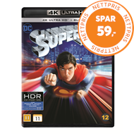 Produktbilde for Superman: The Movie (4K Ultra HD + Blu-ray)