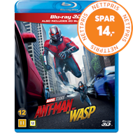 Produktbilde for Ant-Man 2 - Ant-Man And The Wasp (Blu-ray 3D + Blu-ray)