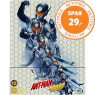 Produktbilde for Ant-Man 2 - Ant-Man And The Wasp - Limited Steelbook Edition (BLU-RAY)