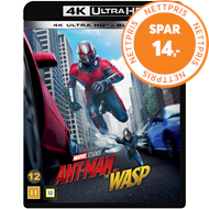 Produktbilde for Ant-Man 2 - Ant-Man And The Wasp (4K Ultra HD + Blu-ray)
