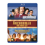 Anchorman 1-2 (BLU-RAY)