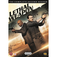 Lethal Weapon - Sesong 2 (DVD)