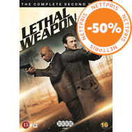 Produktbilde for Lethal Weapon - Sesong 2 (DVD)