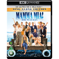 Mamma Mia 2 - Here We Go Again (4K Ultra HD + Blu-ray)