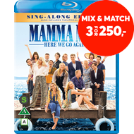 Produktbilde for Mamma Mia 2 - Here We Go Again (BLU-RAY)