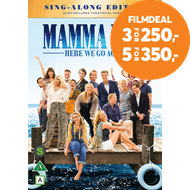 Produktbilde for Mamma Mia 2 - Here We Go Again (DVD)