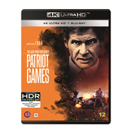 Patriot Games (4K Ultra HD + Blu-ray)