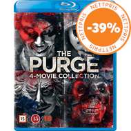 Produktbilde for The Purge 4-Movie Collection (BLU-RAY)