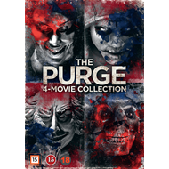 The Purge 4-Movie Collection (DVD)