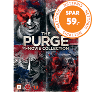 Produktbilde for The Purge 4-Movie Collection (DVD)