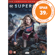 Produktbilde for Supergirl - Sesong 3 (DVD)