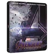Avengers 4 - Endgame - Limited Steelbook Edition (BLU-RAY)