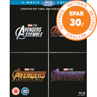 Produktbilde for Avengers 1-4 (BLU-RAY)